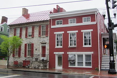 Two historic houses, Cork Street, Winchester