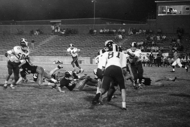 LR 69er's vs. Airport, JV Football (1968)