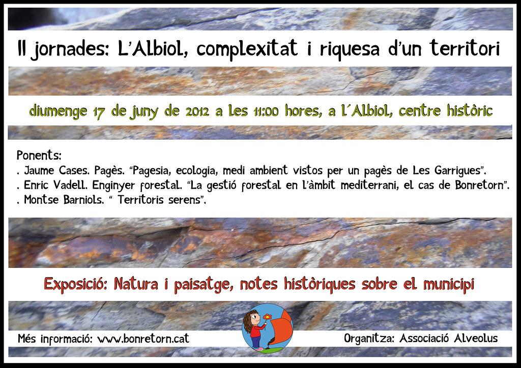 cartell II jornades alveolus