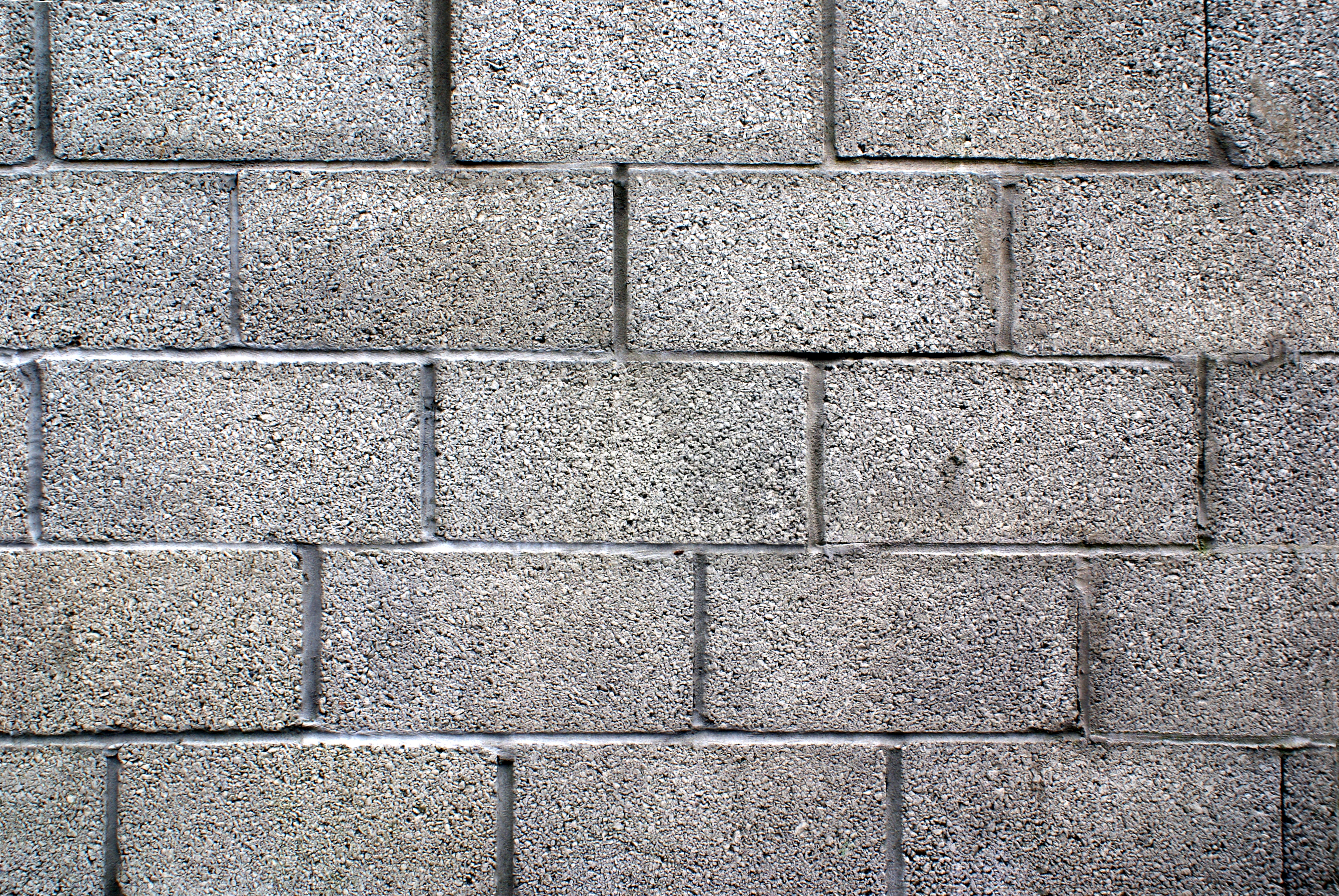 Concrete Block Wall Concrete Block Wall