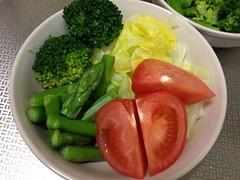 朝食サラダ(2012/4/16)