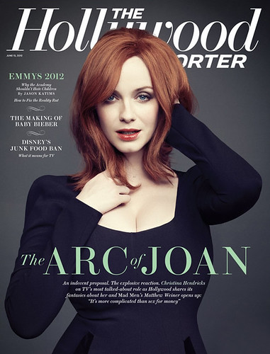 Christina Hendricks on the cover of the Hollywood Reporter