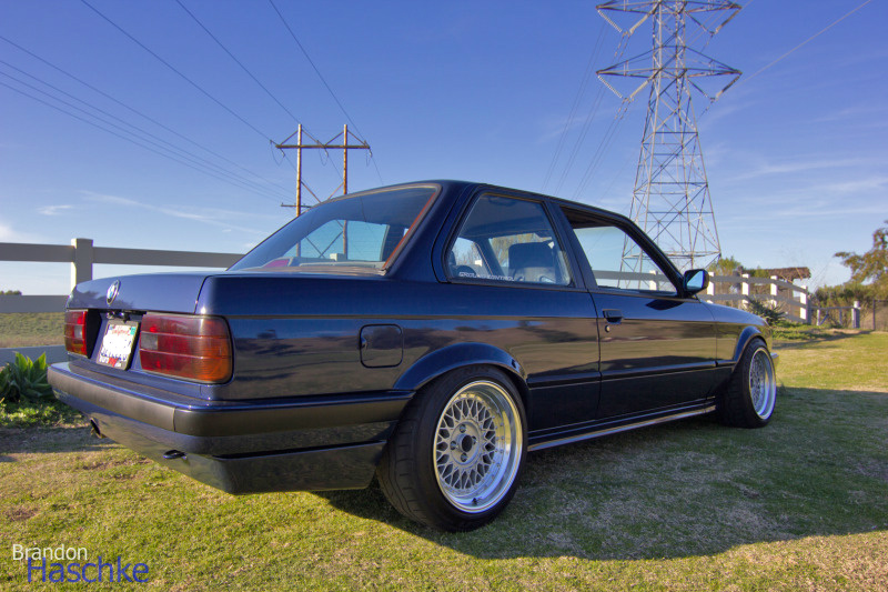 E30 Rare 1991 Bmw E30 318is Slick Top Slammed Stanced Mystic Blue