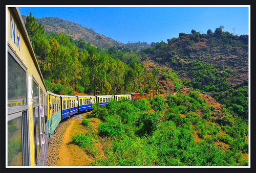 Shimla Kalka Express  - Toy Train