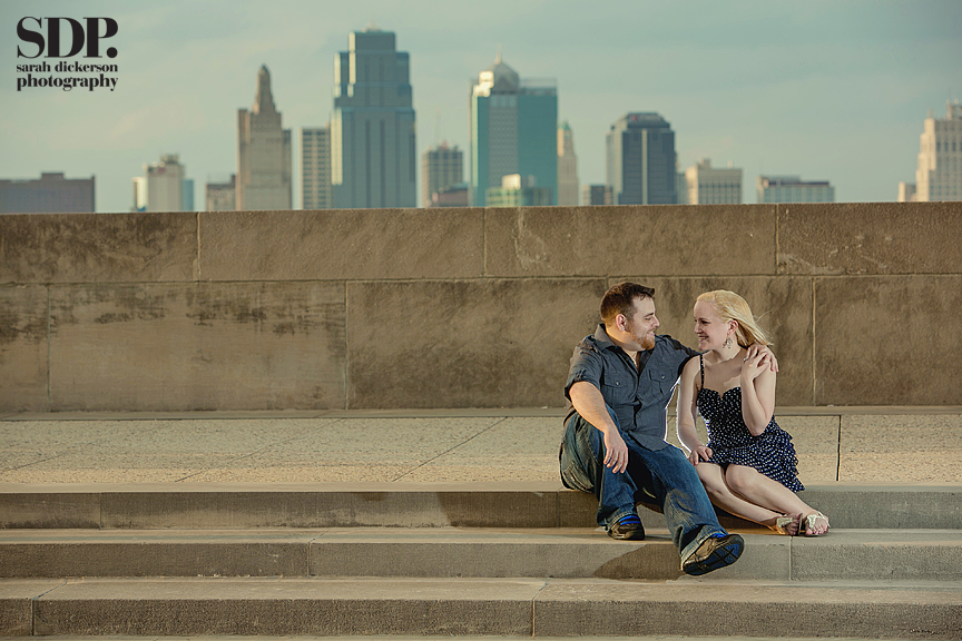 Liberty Memorial Kansas City engagement photography