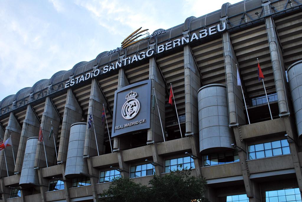 Estadio Santiago Bernabéu, Real Madrid, Madrid, Spain