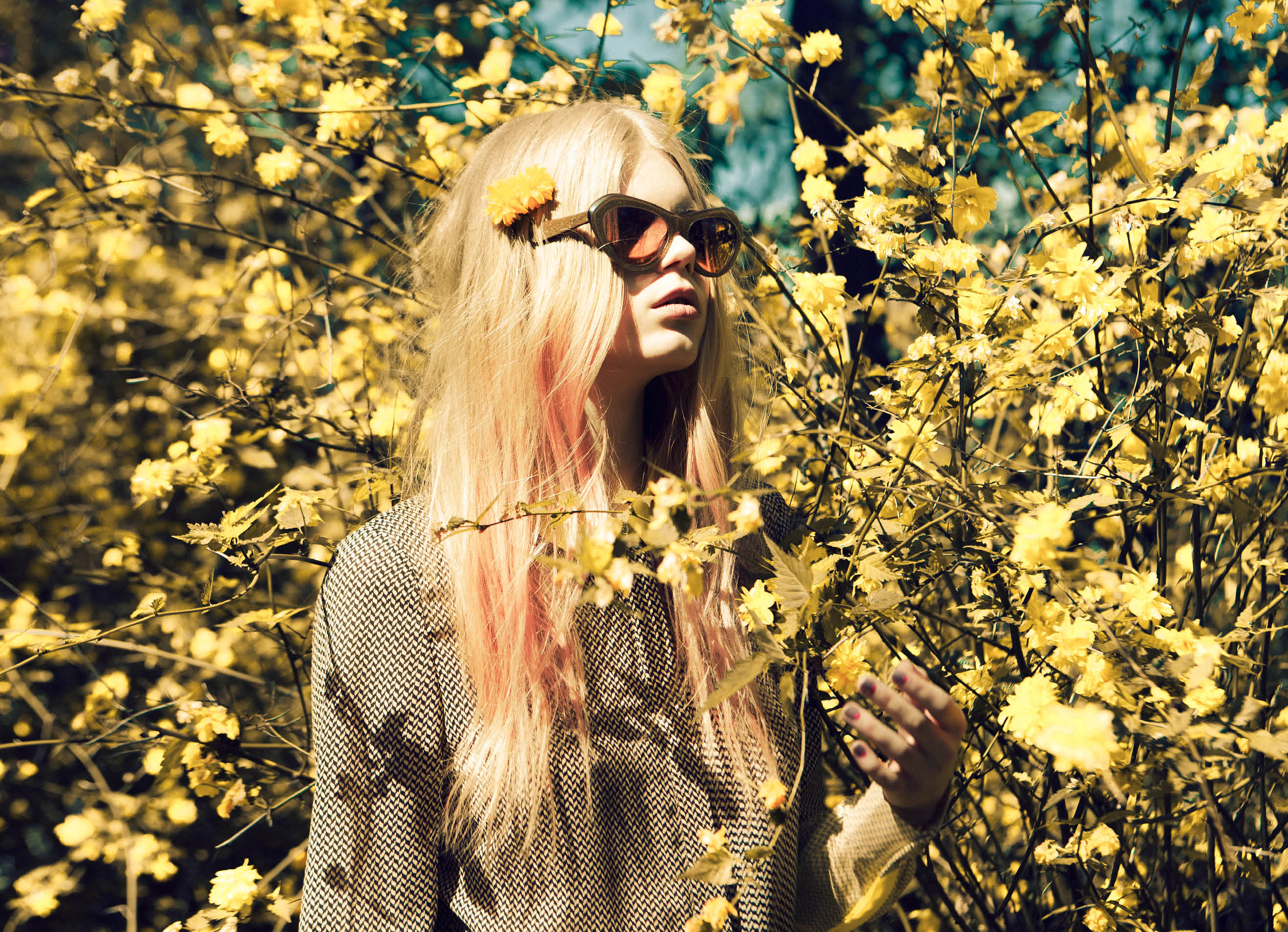 daisybutter - UK Style and Fashion Blog: three floor fashion, fashion editorial, SS12 lookbook, high summer