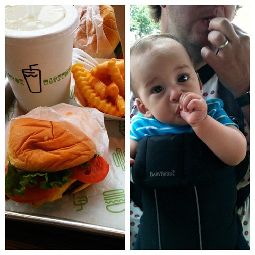 Shake Shack was a hit all around.