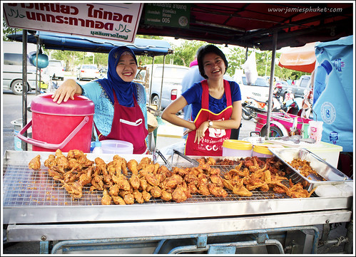 Chicken stall at Sapan Hin Phuket