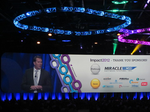 Impact 2012 general session by rhetorica2 on Flickr
