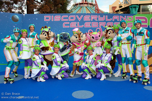 Meeting the cast and Characters of Discoveryland Celebrates!