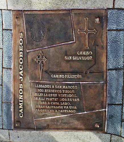 Camino del Salvador, León