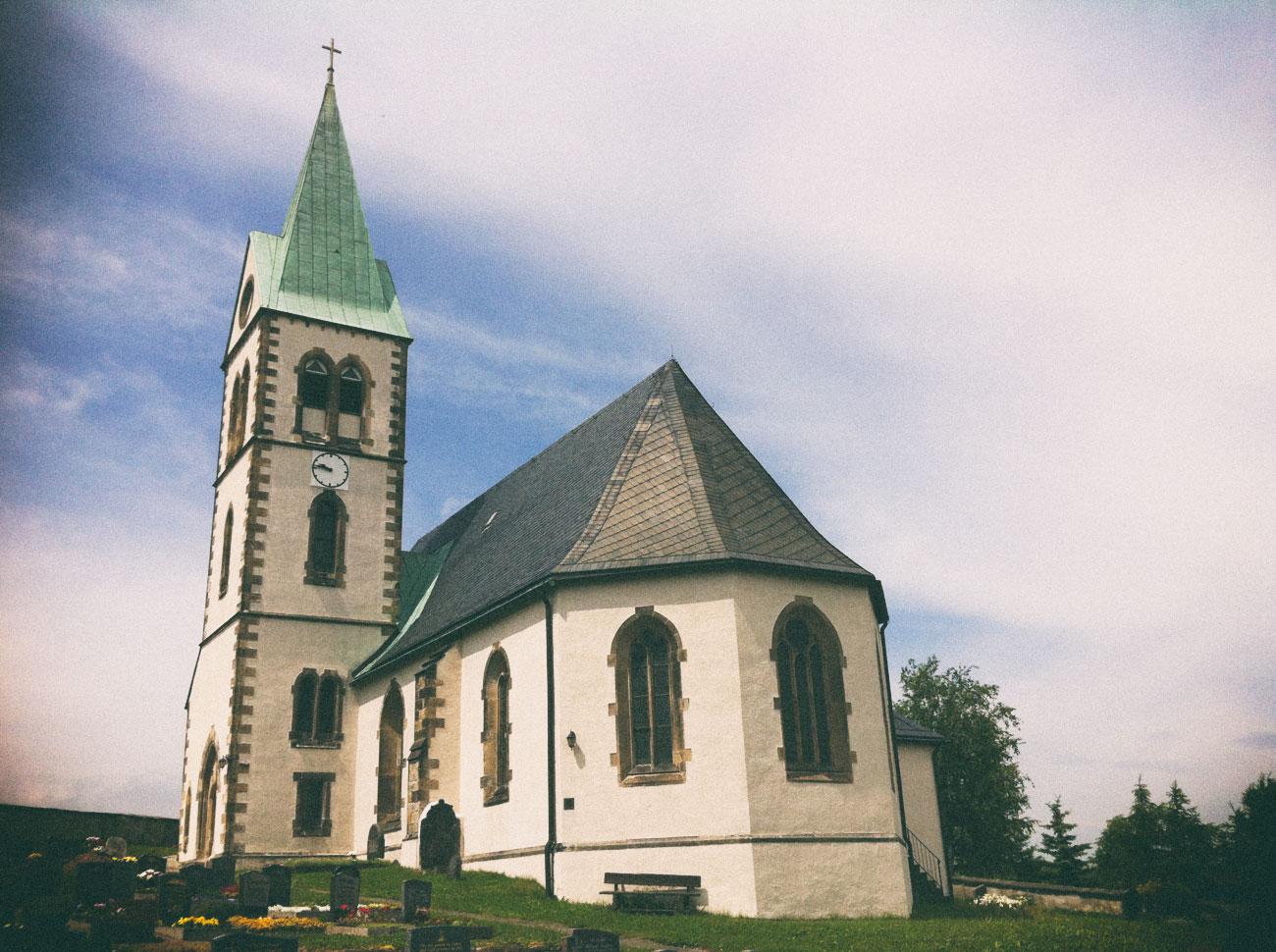 Kirche in Fürstenau (Geising)