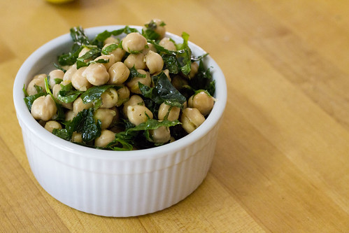 Chick Pea and Kale Salad