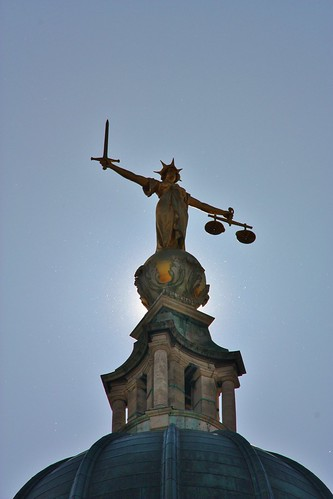 Old Bailey and Lady Justice