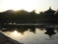 Sunset at Hyangwon-jeong