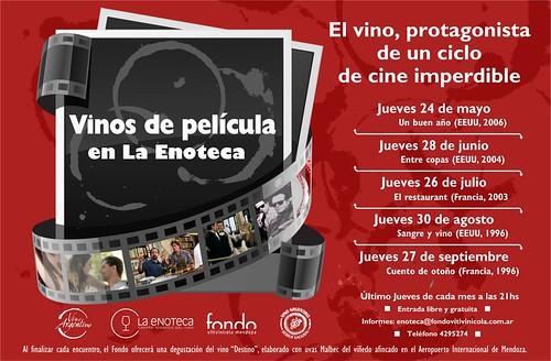 Vinos de película en La Enoteca