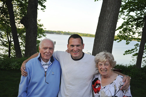 Jeff with Gram and Gramo May 2012