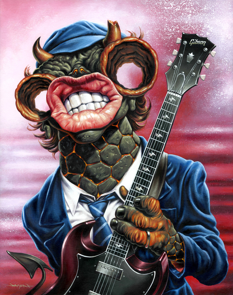 Jason Edmiston - (Monsters Of Rock) Angus
