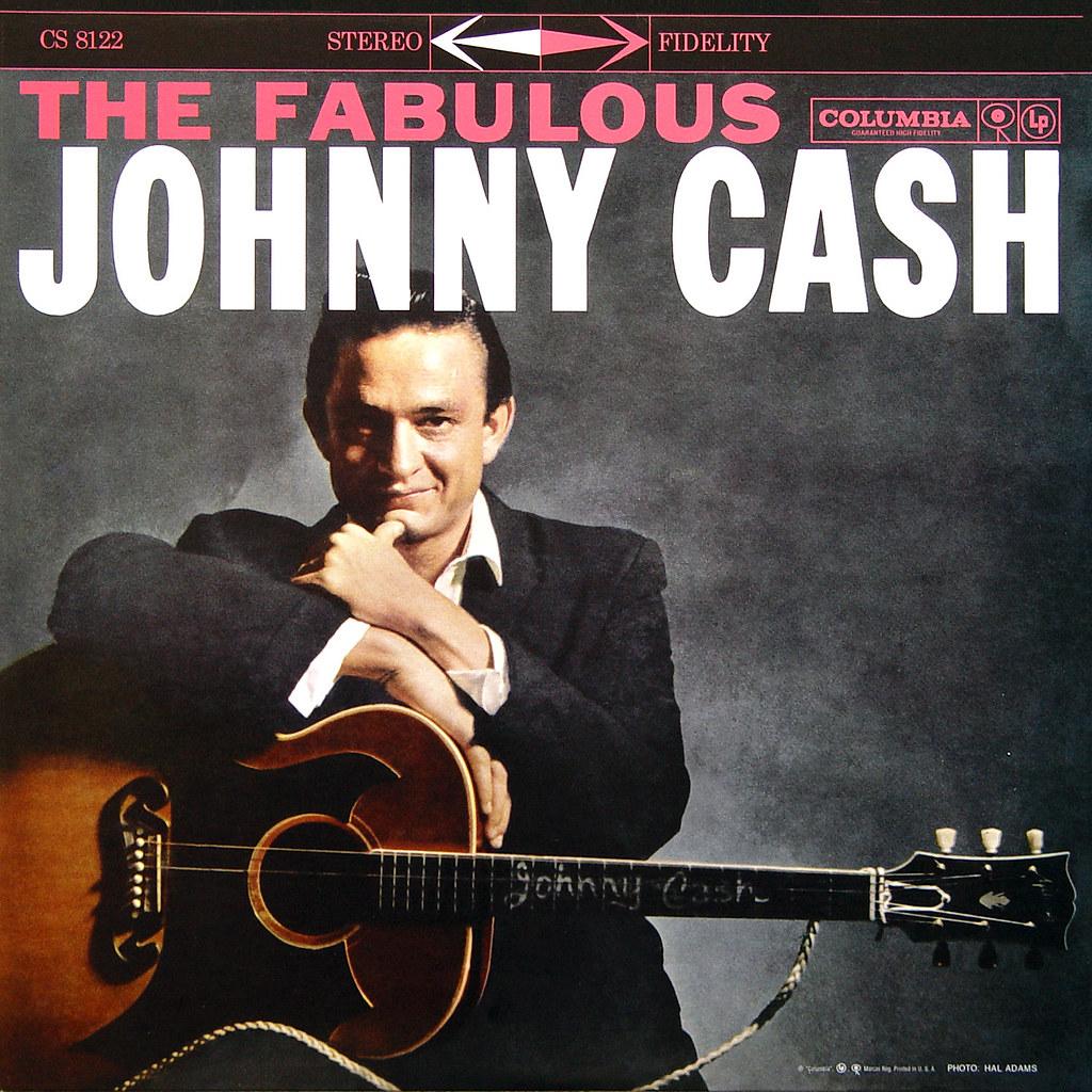The Fabulous Johnny Cash Lp Cover Art