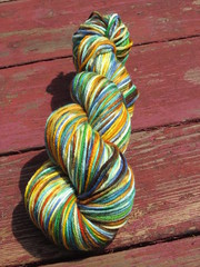 New colorway. *Brave* 4.5 oz Aphrodite-Organic Gaia Worsted
