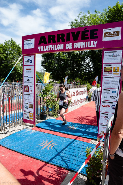 Triathlon de Rumilly, France, 2012