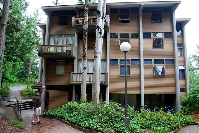 Dan Rediscovers His Dorm Room Western Washington