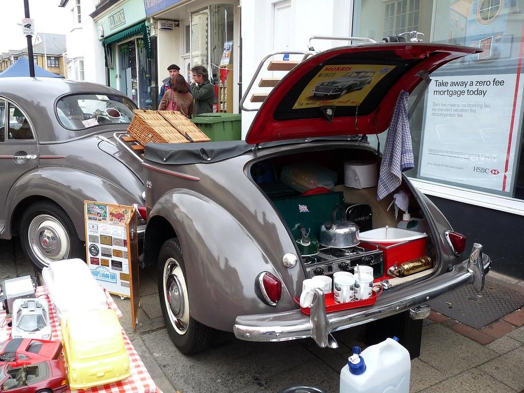 Morris Minor Trailer | Seen at Faversham Transport Weekend c… | Flickr