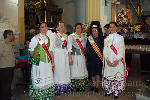 Corte de Honor 2012 (adultas)