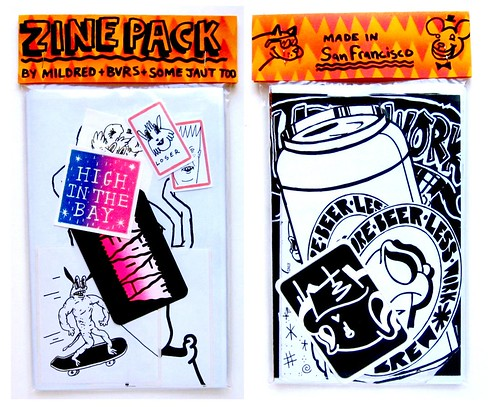 Double zine pack with BVRS