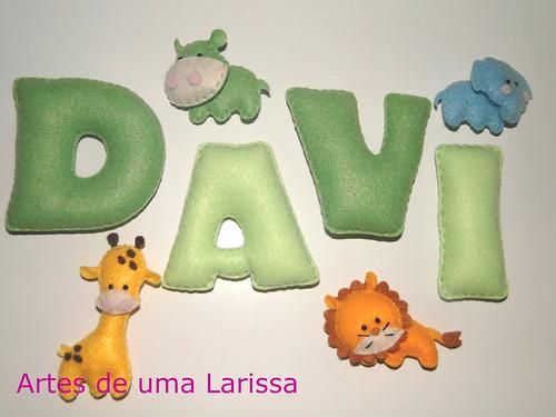 Davi by Artes de uma Larissa