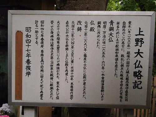 上野大仏@東京上野-09
