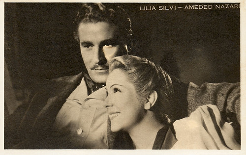 Lilia Silvi and Amedeo Nazzarri