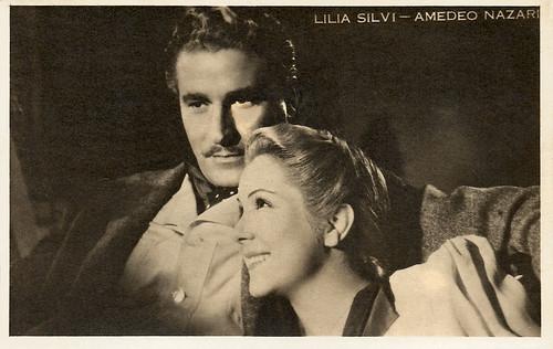 Lilia Silvi and Amedeo Nazzarri
