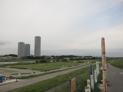 Tama River from Kawasaki City