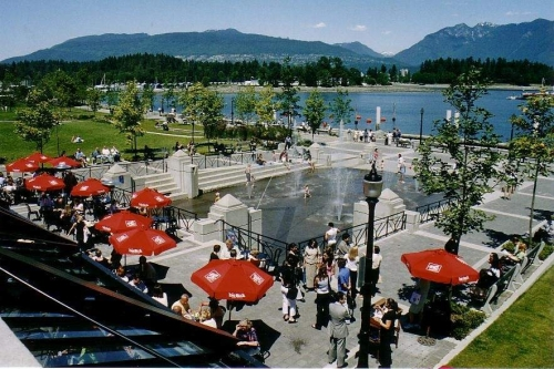 The Mill Patio - Coal Harbour Seawall