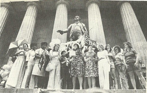 1974 New York City: Bella Abzug at ERA Rally @ Federal Memorial Hall