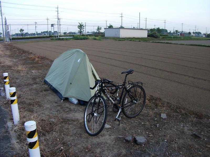 1日目の寝床 (道の駅 めぬま)