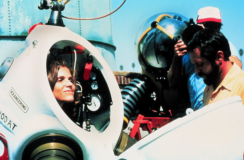 Sylvia Earle in a Jim Suit