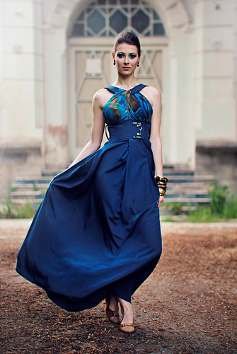 [フリー画像素材] 人物, 女性, ワンピース・ドレス, マケドニア人 ID:201205301800