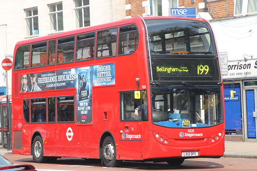 10128 LX12DFC STAGECOACH LONDON