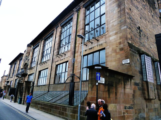 Tour Group at Glasgow School of Art