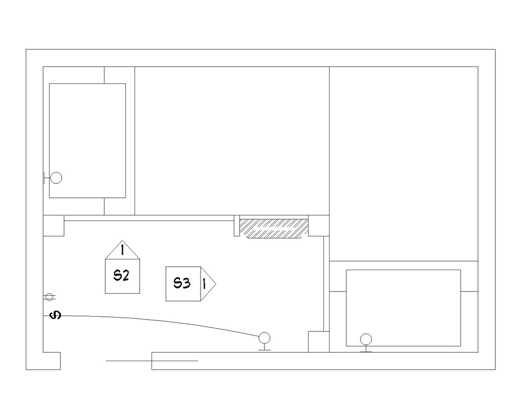 bunk room plan