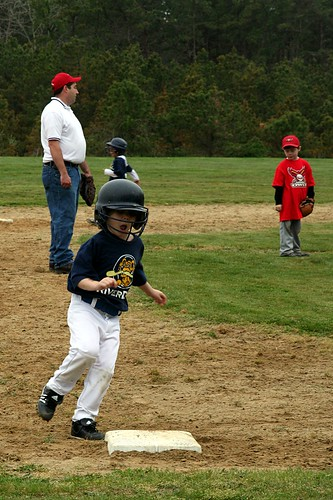 Josh at third base