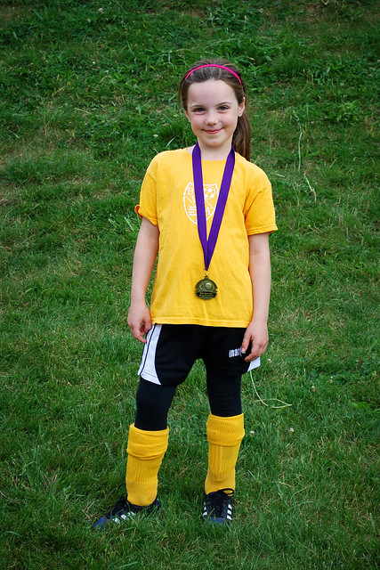 Evelyn's U6 Medal