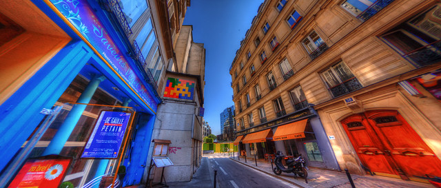 PA 1..., Space Invader, Paris - France