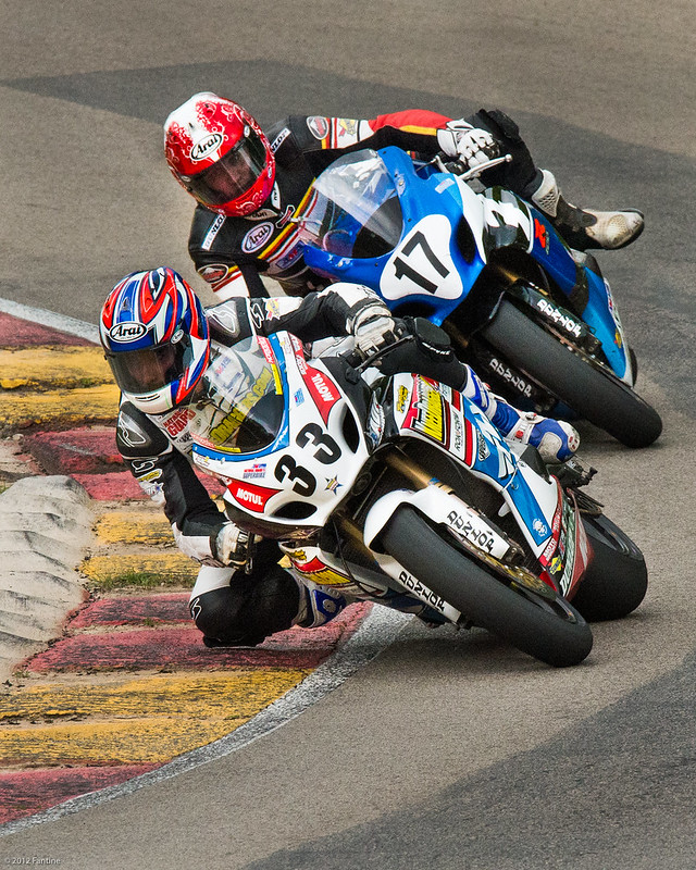 Superbikes at Road America