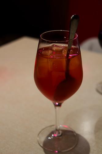 Grapefruit/Wine drink at Jean Nicot