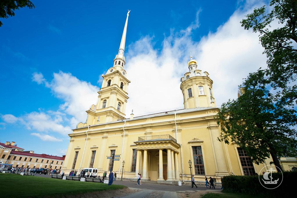 10 июня 2012, 300-летие закладки Петропавловского собора