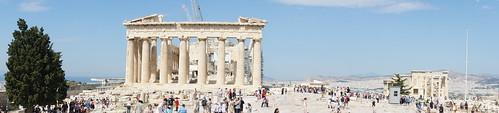 Parthenon, Acropolis - panorama